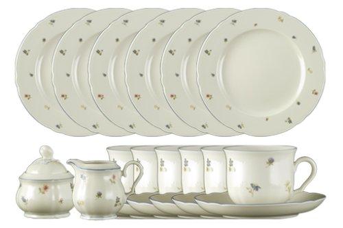 seltmann weiden kaffeeservice 20 tlg marie luise streublume asartam. Black Bedroom Furniture Sets. Home Design Ideas