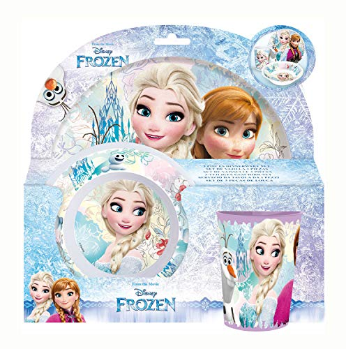 Disney Frozen Eiskönigin Kinder Becher Set 4 teilig Trinkbecher 4er Set 260ml